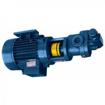 Galtech Hyd Gear Pump Group 2, PCD Flange ports 1 1:8 Taper Shaft, 4 Bolt Flange