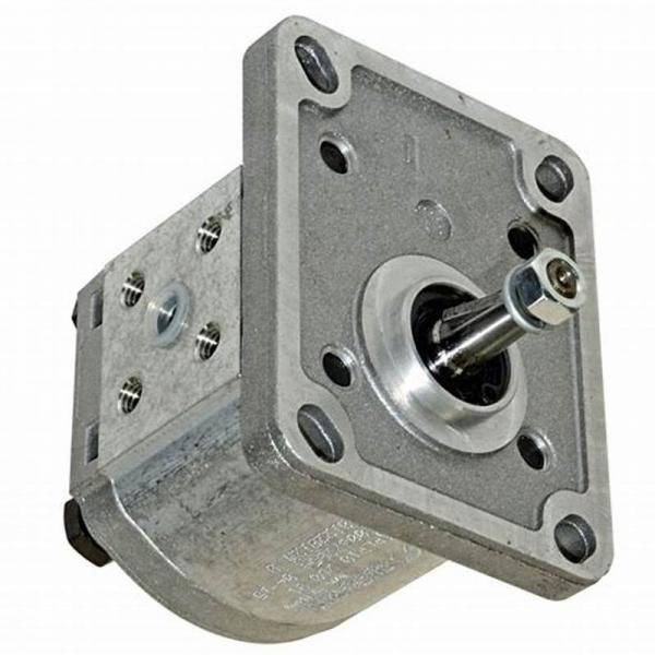 Hydraulic Gear Pump, Group 3, BSP Threaded Ports 1 1:8 Taper 4 Bolt Flange #2 image