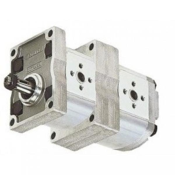 Hydraulic Gear Pump, Group 3, BSP Threaded Ports 1 1:8 Taper 4 Bolt Flange #1 image