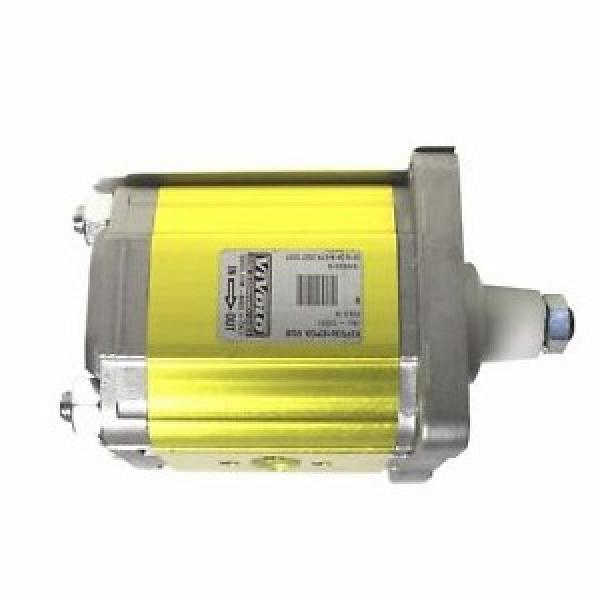 Galtech Hyd Gear Pump Group 2, PCD Flange ports 1 1:8 Taper Shaft, 4 Bolt Flange #2 image
