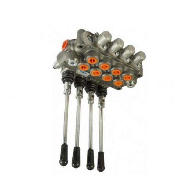 Distributore oleodinamico idraulico 3/8 2 leve doppio effetto 1 leva S.E. 40LT #1 image